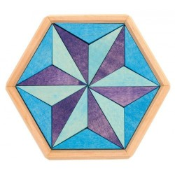 Mini puzzle Hexagon