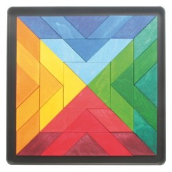 Puzzle magnetic Square Indian