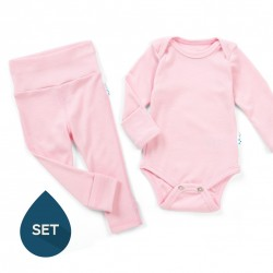 Set de baza Superlove Merino Baby - Soft red