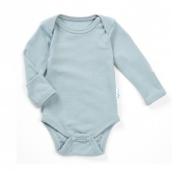 Mărește Body 100% merinos, Superlove - Cloud grey
