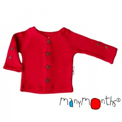 Cardigan ManyMonths - Poppy red