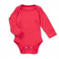 Body 100% merinos, Superlove - Soft red