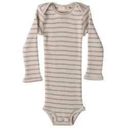 Body lânâ merinos Minimalisma - Rose stipes