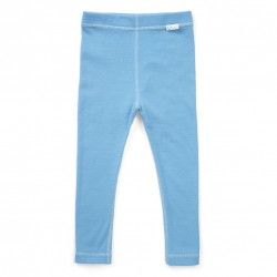 Colanți toddler 100% merinos, Superlove - Sky blue