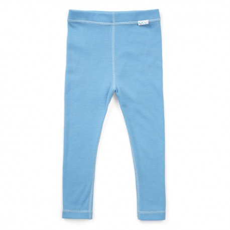 Mărește Colanți toddler 100% merinos, Superlove - Sky blue